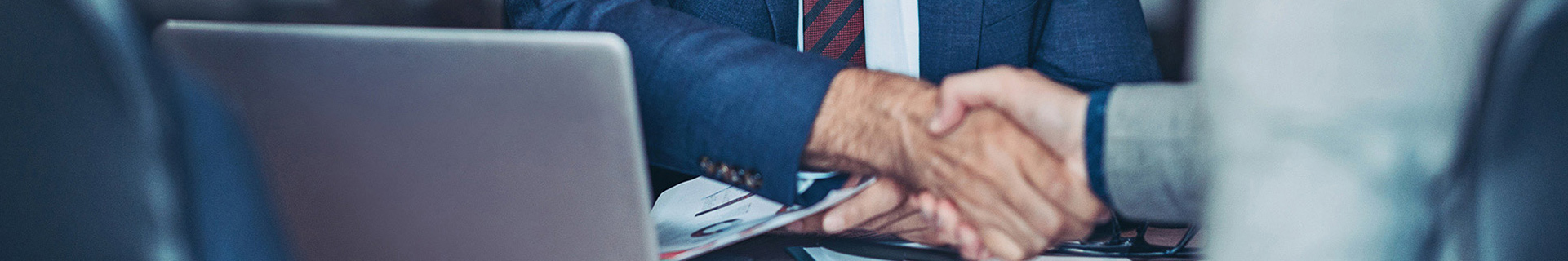 Banner Handschlag