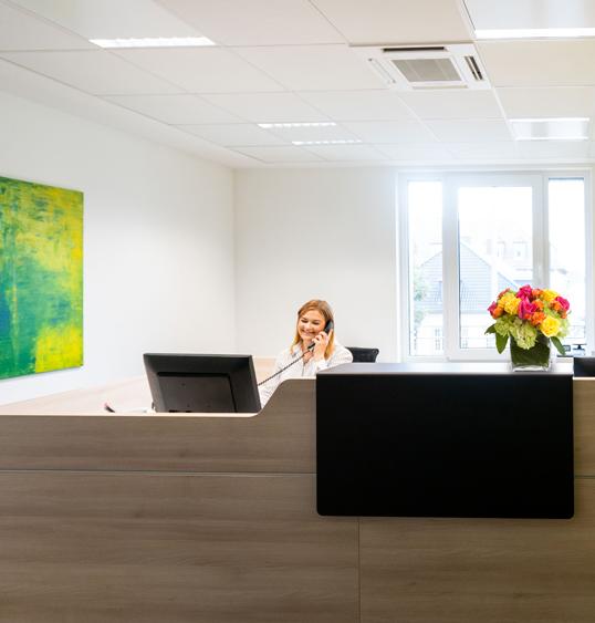 Rechtsanwalt Paderborn - Empfangsbereich
